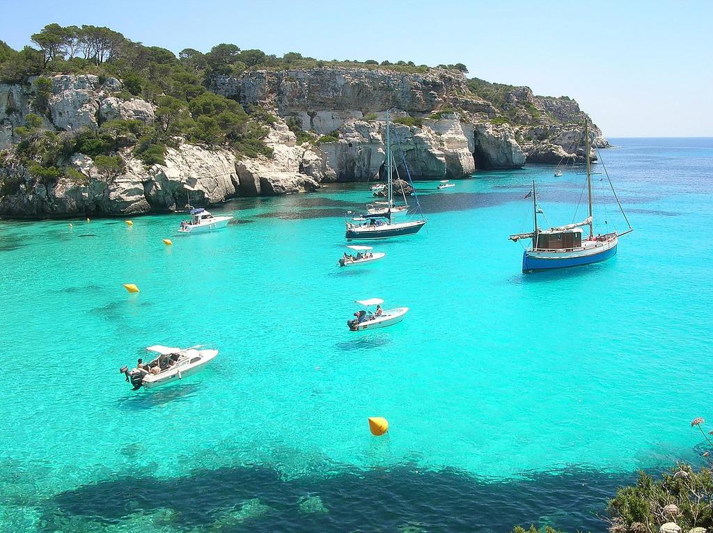 Отдых на Средиземном море. Балеарские острова.