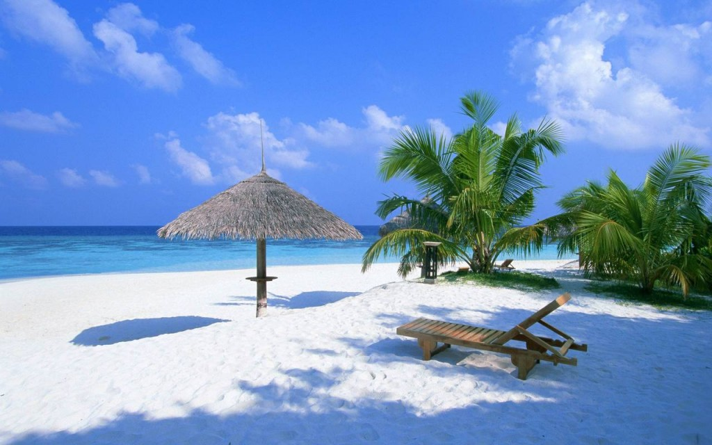 Зимний отдых на пляже