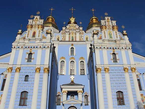 Михайловский Златоверхий монастырь в Киеве (Украина)