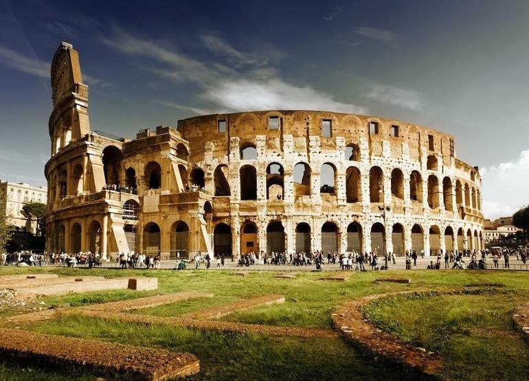 Едем в Италию: Колизей