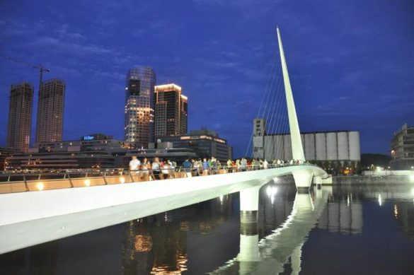 «Мост женщины» в Буэнос Айресе (Аргентина)
