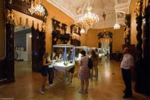 Музей Фаберже в Санкт Петербурге (Россия)