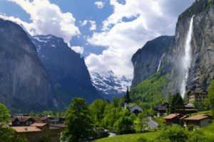 Водопад Штауббах: одно из самых красивых мест Швейцарии