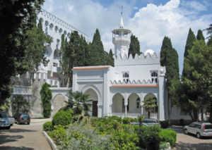 Дворец Кичкинэ в Ялте (Крым)