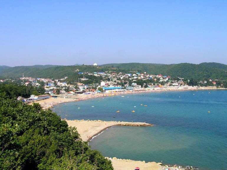 Курорт черноморского побережья: Джубга