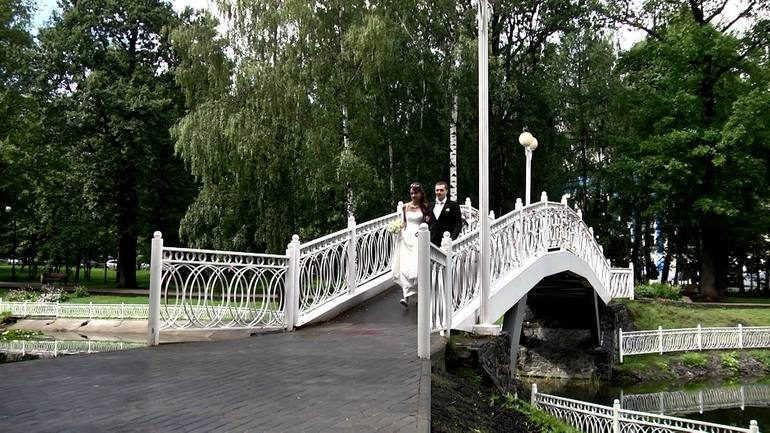 Лианозовский лесопарк в Москве (Россия)
