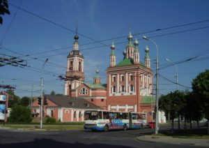 Николо Ямская церковь в Рязани (Россия)