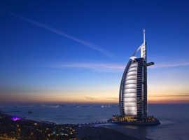 Отель Бурдж-эль-Араб в Дубае (ОАЭ)