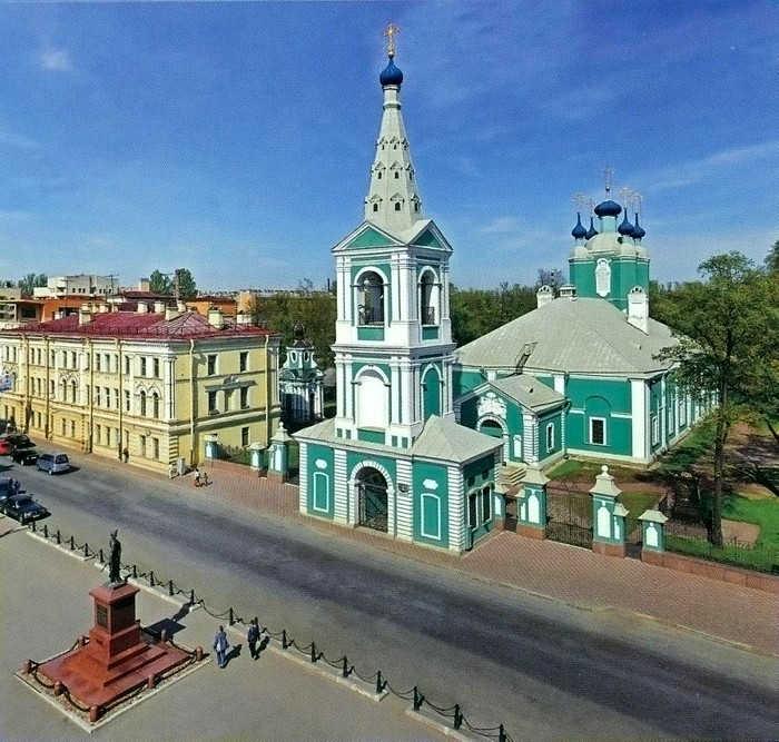 Сампсониевский собор в Санкт Петербурге (Россия)