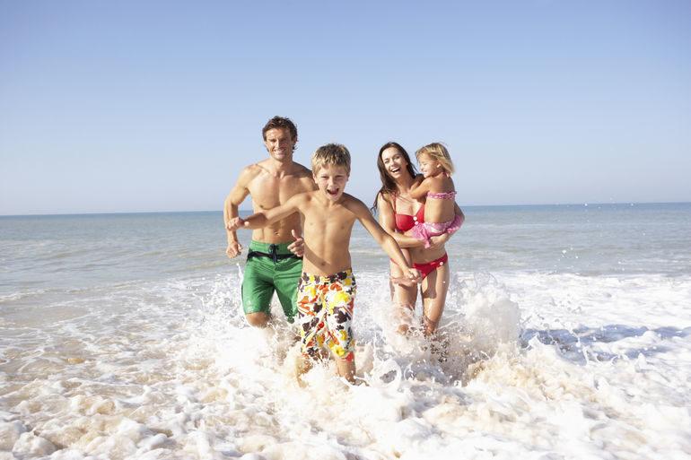 Морской отдых: польза для всей семьи