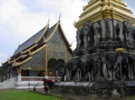 Ват Чианг Ман, самый старый буддийский храм в городе