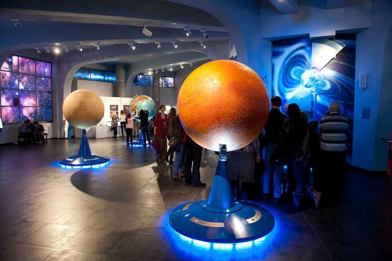 Московский планетарий: шаг в космос (Россия)