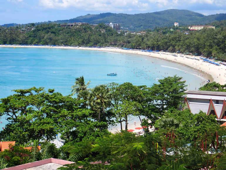 Пляж Ката Бич на Пхукете (Таиланд)