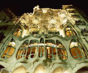 Дом Бальо в Барселоне (Испания)