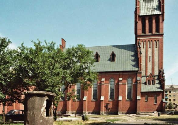 Кирха Святого Семейства в Калининграде (Россия)