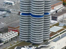 Музей BMW в Мюнхене (Германия)