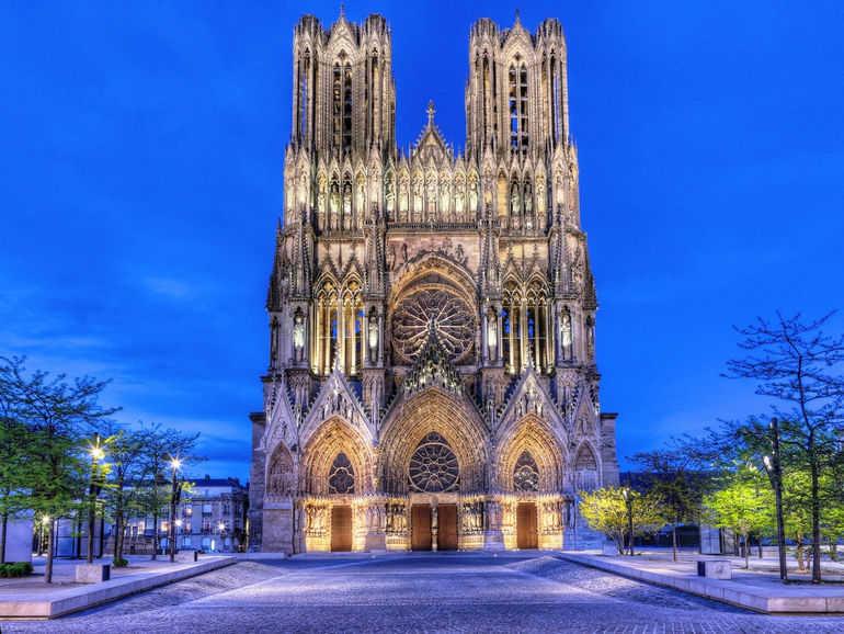 Реймсский собор в Шампани (Франция)