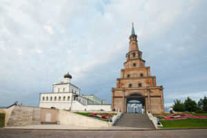 Башня Сююмбике в Казани (Татарстан)