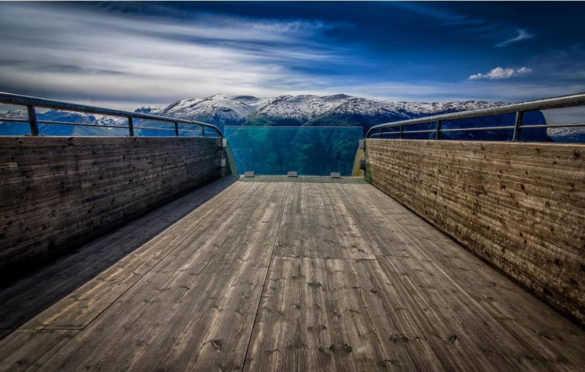 Смотровая площадка Стегастейн (Норвегия)