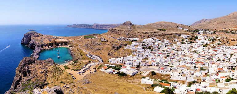 Линдос на Родосе (Греция)