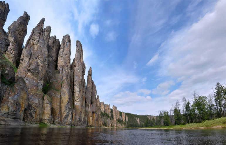 Заповедники Якутии: Ленские столбы (Россия)