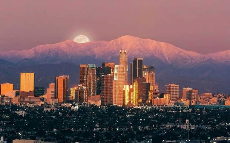 Лос Анджелес   город развлечений