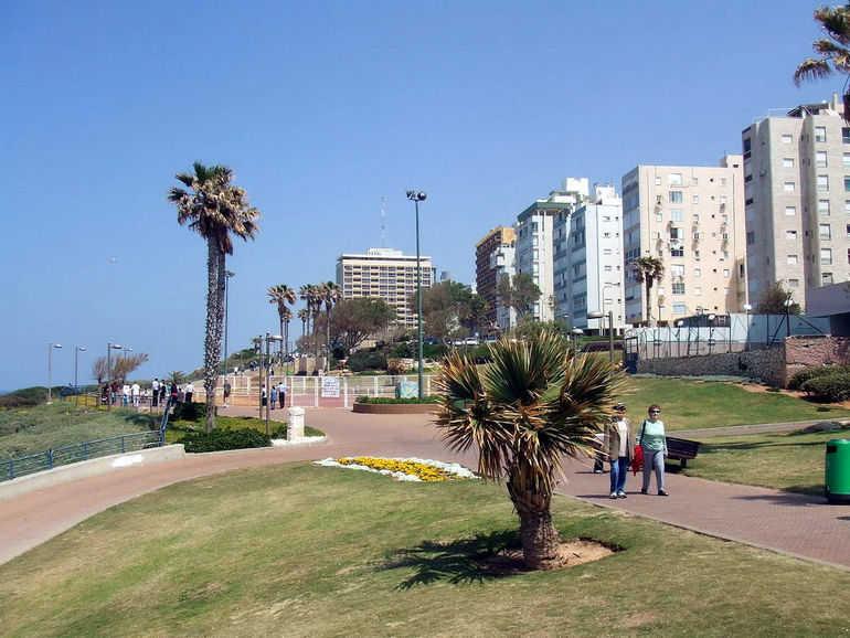 Город Нетания в Израиле