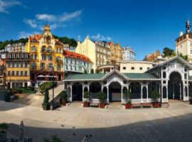 Оздоровительный курорт Карловы Вары в Чехии
