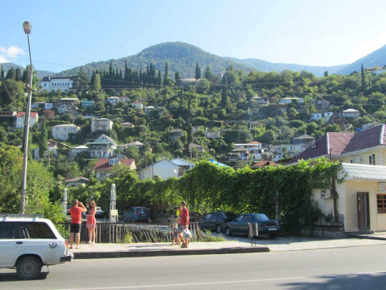 Абхазия – солнечная фреска
