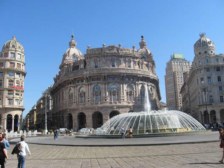 Генуя. Что посмотреть, где побывать. Италия