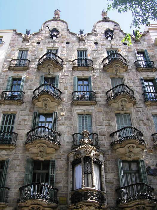 Барселона Антонио Гауди (Испания)