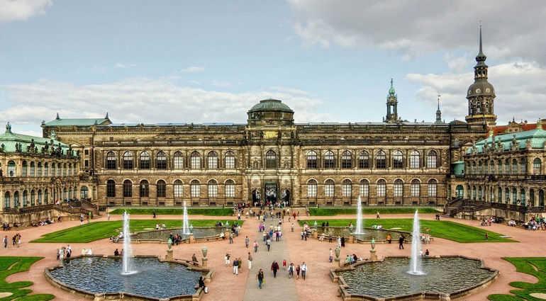 Живописный город Дрезден