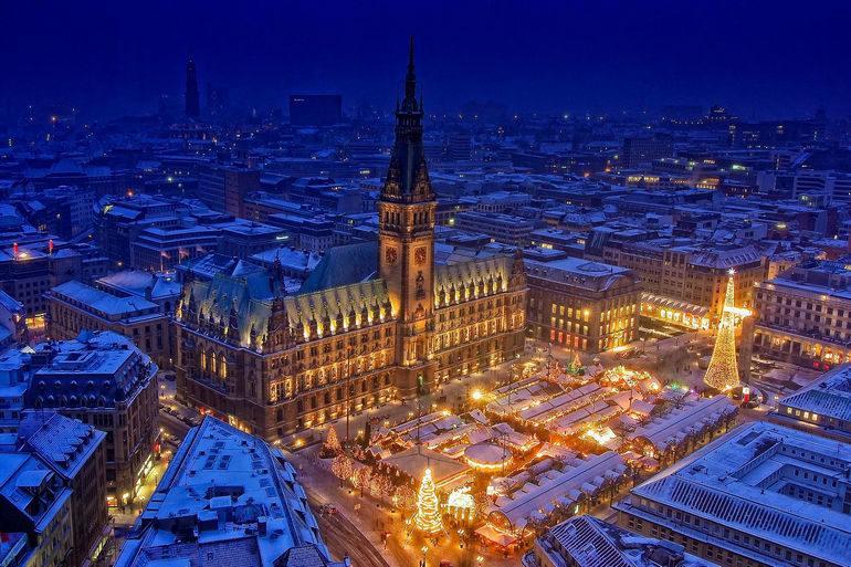 Предрождественский Гамбург (Германия)