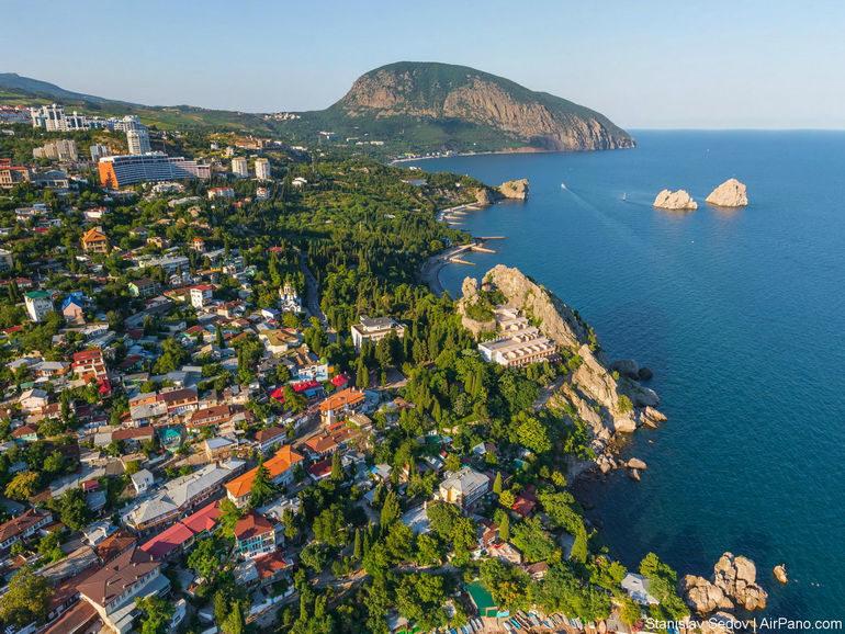 Гурзуф – морское уединение Крыма