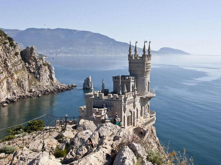 Черноморские курорты России: Ялта   уникальность курорта