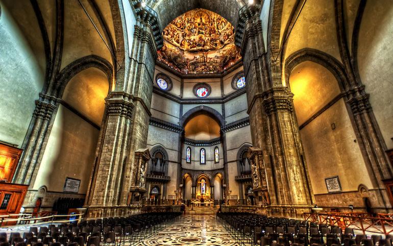 Собор Санта Мария дель Фьоре или Дуомо Флоренции (Италия)