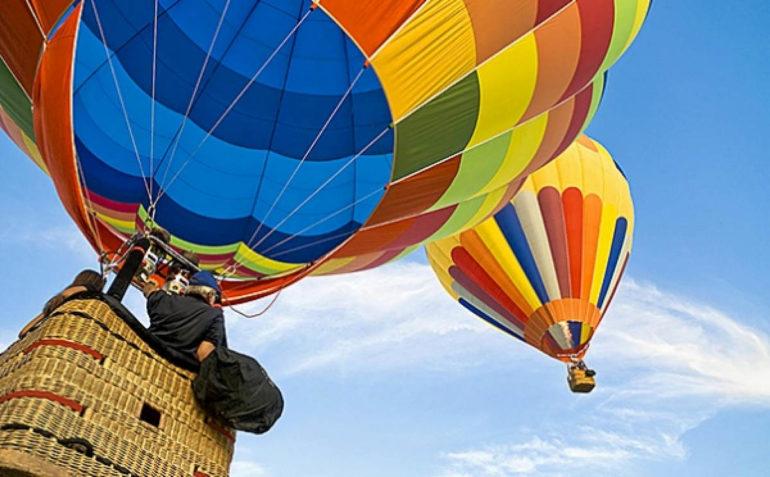 Туристический аттракцион в Москве   полеты на шаре