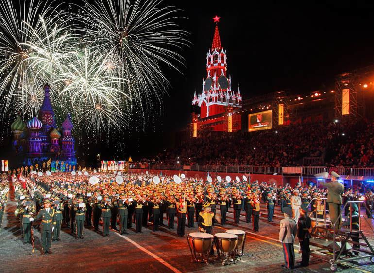 Достопримечательности Москвы: Спасская башня