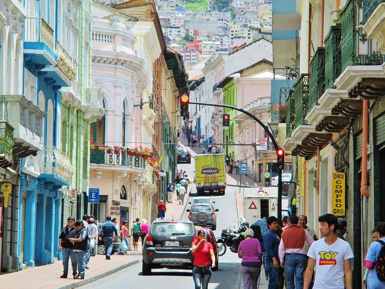 Самые посещаемые туристами города Эквадора