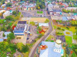 Вид с коптера на Александров (фото photobook33.ru)