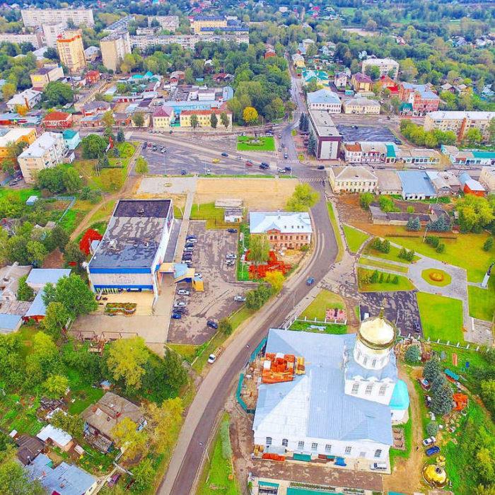 Поездка в город Александров