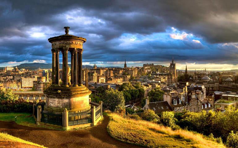 Выходные в Эдинбурге для бюджетного туриста