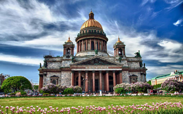 Музей цветного камня – Исаакиевский собор
