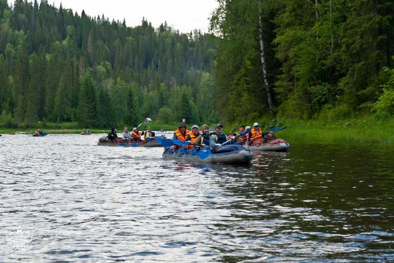 Речные просторы Предуралья: сплавы и путешествия