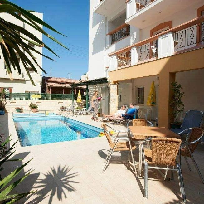 «Irini Apartments» – один из лучших отелей на острове Крит