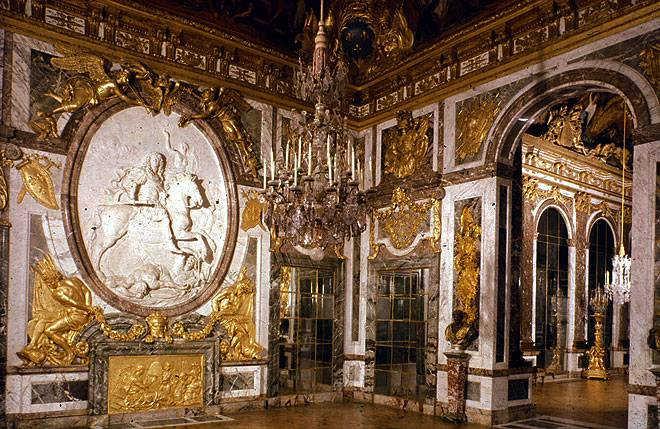 Салон Войны дворец в Версале Франция фото