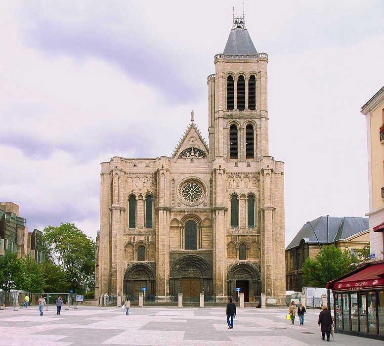 Базилика Сен-Дени Париж фото