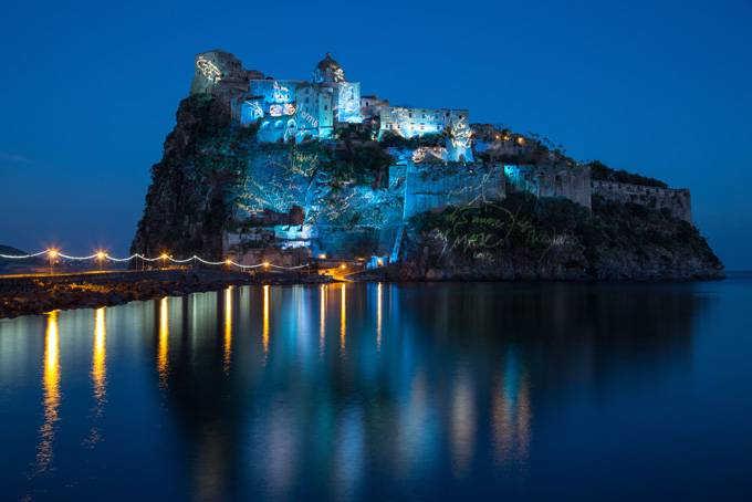 Арагонский замок Искья фото