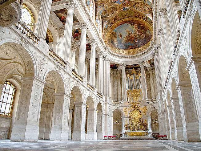 Королевская капелла Версаль Франция фото
