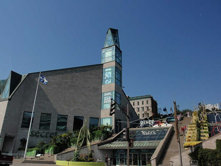 Музей цивилизации - достопримечательности Квебека